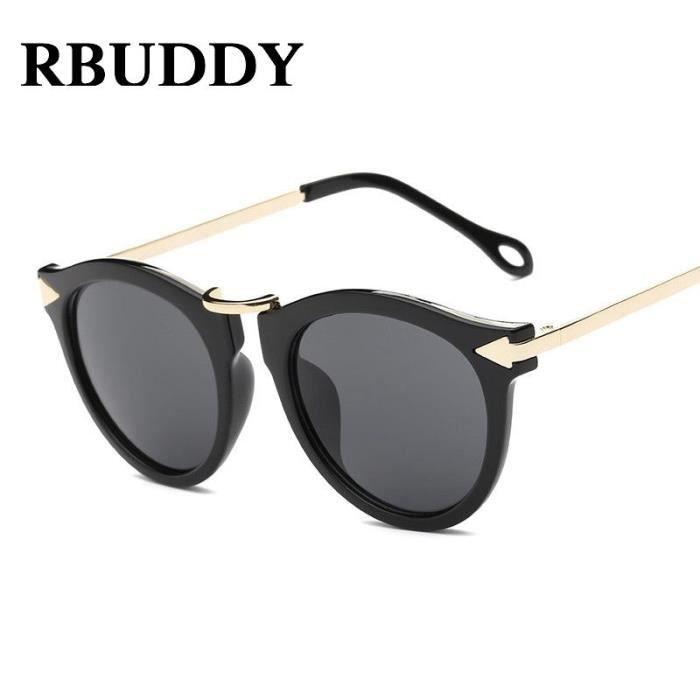 18465ddc05 RBUDDY Lunettes de soleil Femmes Luxe Marque Designer 2017 Mesdames  Sunglass Femme Lunettes de soleil oculos de sol Feminina avec