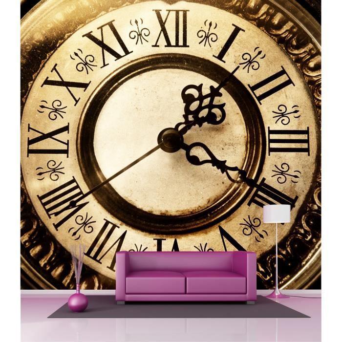 Papier Peint Grande Largeur Horloge 2 6x2 7 M D Achat Vente