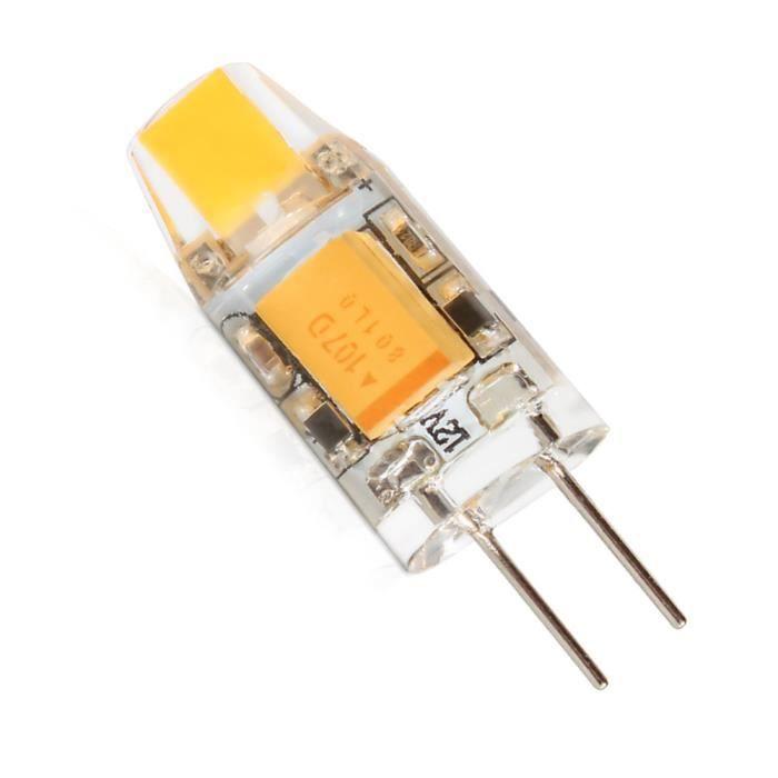Mengjay® 1 x G4 AC DC 12 V Lampe Ampoule LED SMD Blanc chaud 1.5 W remplace halogène Lampe 360 Angle de faisceau Luz LAMPADA LED