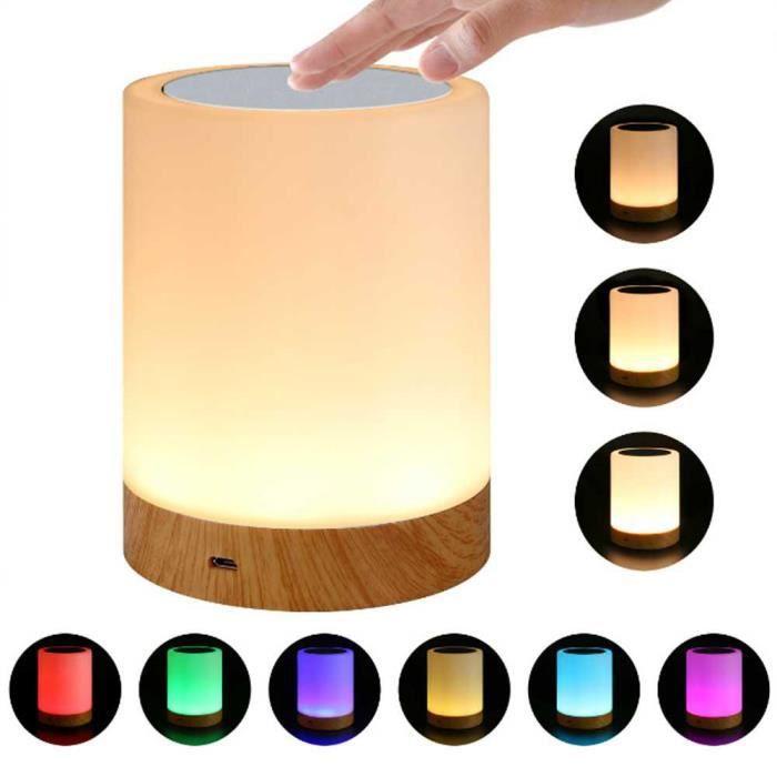 de LectureChevet Led Leegoal Lampe Avec veilleuseDe Table trQxshdC