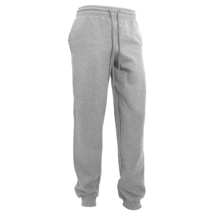 Gildan - Pantalon de jogging - Homme Gris sport Gris sport - Achat ... af9d9ea18275
