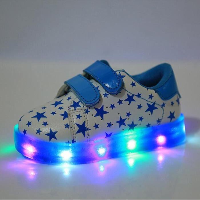 2017 nouvelle LED lumineux pour enfants Chaussures de sport zXH8k