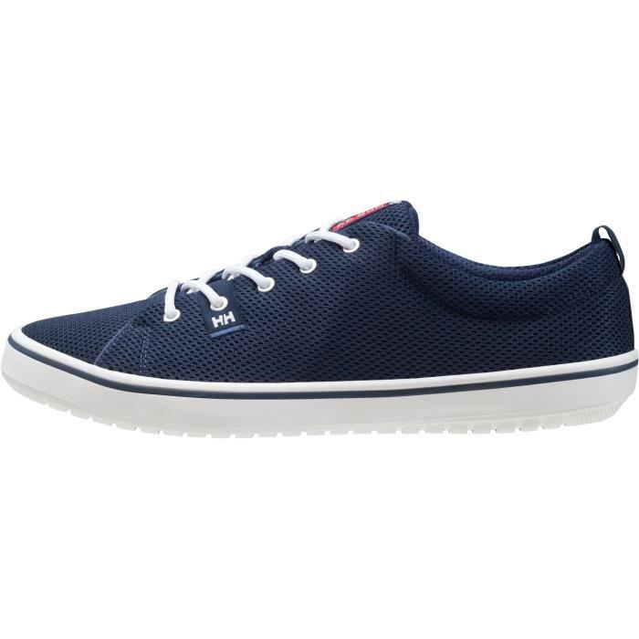 SCURRY 2 bleu marine-blanc-rouge - Baskets homme HELLY HANSENBLEU MARINE-BLANC-ROUGE