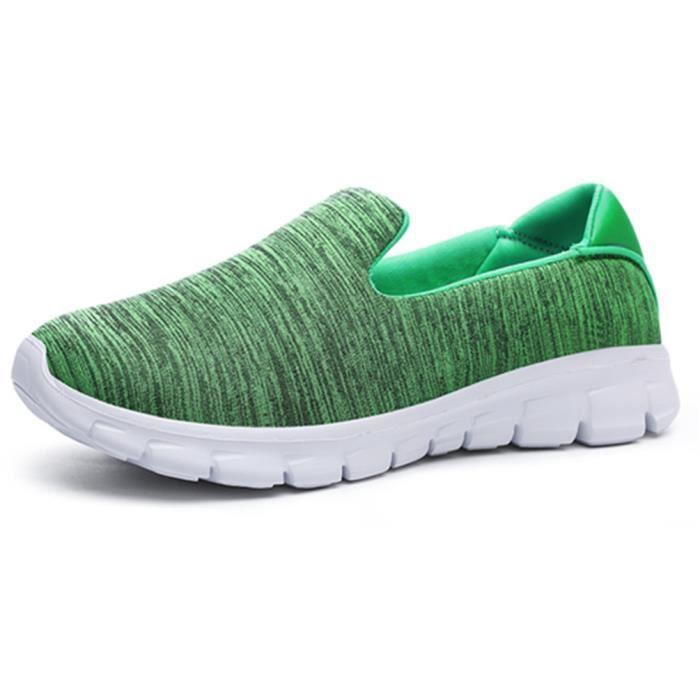 Chaussures Mocassin femme Poids Léger Antidérapant Mocassins Meilleure Qualité plates Grande Taille