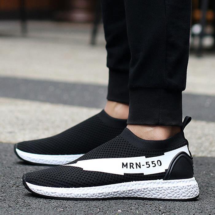 Chaussures net Hommes Respirant épaisse Mocassins Tissu étudiant 2017 semelle Casual 04qBw4P