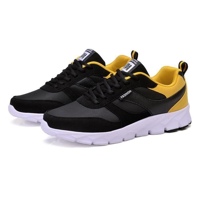 Chaussures de sport pour hommes Chaussures respirantes masculines Baskets à lacets taille 38-45 lfqjlPG8GD