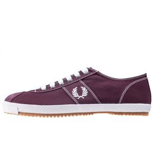 Fred Perry Table Tennis Reissue Hommes Baskets Acajou rouge - 7 UK 2PK3xeJ