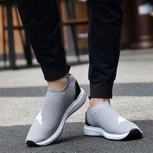 2017 Hommes étudiant Respirant Tissu net semelle épaisse Chaussures Mocassins Casual xd83gFipP
