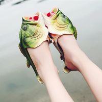 TONG Claquette Tong Style poisson EVA Matériel d'été Pl