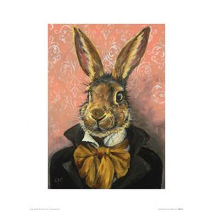 AFFICHE - POSTER Poster Reproduction Lapins - Lord Bunnikins, Louis