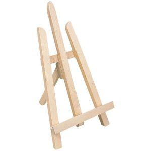 TRÉTEAU Chevalet décoratif bois - Long.29 cm - Haut.53 cm