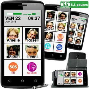 SMARTPHONE Le SMART M45 4,5 pouces, le standard, interface se