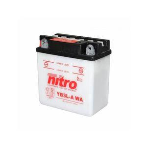BATTERIE VÉHICULE Batterie 12v 3 ah yb3l-a nitro avec entretien (lg9