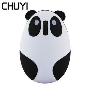 SOURIS CHUYI Mignon Panda Souris Sans Fil Rechargeable Er