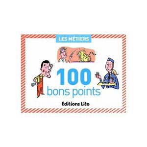 BON POINT - IMAGE Boîte de 100 bons points thèmes les métiers avec t