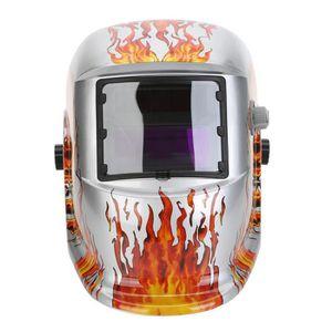 LUNETTE - VISIÈRE CHANTIER Masque De Soudure Automatique LCD Cagoule Casque S