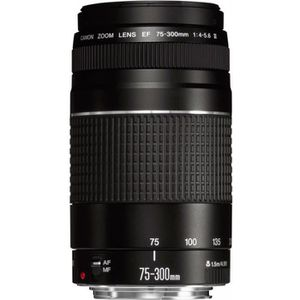 OBJECTIF CANON EF 75-300MM F/4.0-5.6 III (6473A015) 6473A01