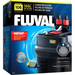 FILTRATION - POMPE Filtre extérieur Fluval Modèle 206 - 200 litres