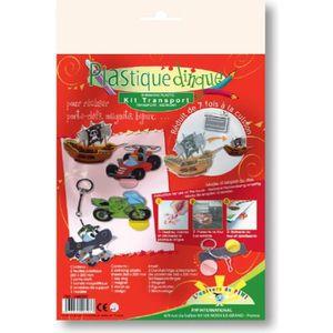 Plastique à modeler Kit Plastique Dingue - Transport - Graines créa…