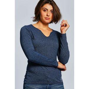 T-SHIRT Von Dutch T-shirt Femme - VD-AH16-2-GINGER_BLEU