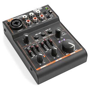 TABLE DE MIXAGE Power Dynamics PDM-D301 Table de mixage 3 canaux c