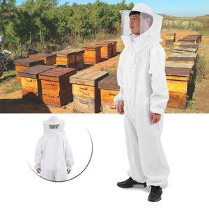 MATÉRIEL SYSTÈME NICOT Beekeeper Costume d'Apiculture Combinaison Protect