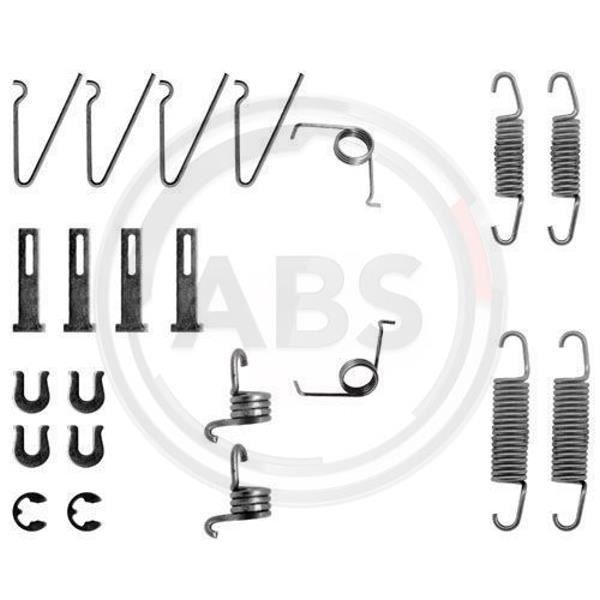 Kit d accessoires mâchoire de frein - A.B.S. 0703Q