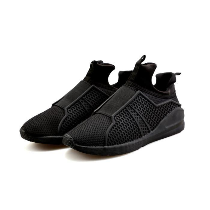 Basket Homme Chaussure de Sport MTT- AN Noir CWZbnzG9