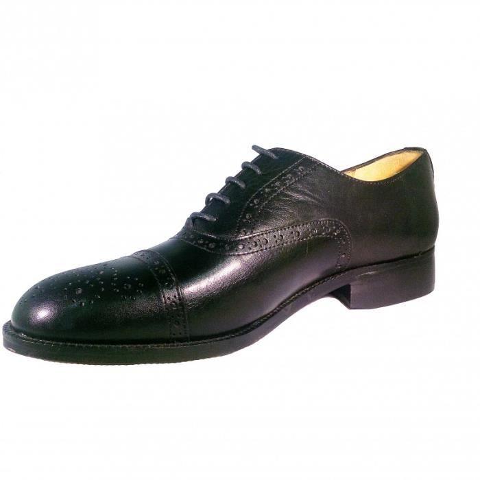 STRADFORD Chaussure en cuir de veau lacet mode homme Richelieu