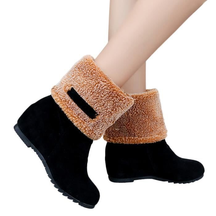 cf8335aaef femmes-suede-round-flat-compensees-toe-shoes-keep.jpg