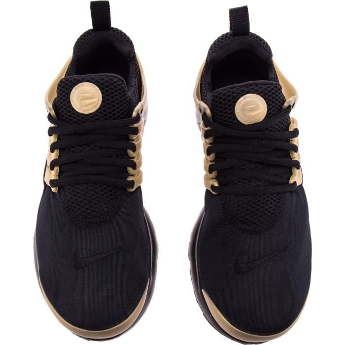 Nike Presto (GS) Trainers Shoes 833875 012 Black-metallique gold