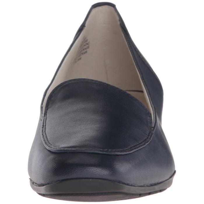 Anne Klein Daneen cuir Slip-on Mocassins KJRHK Taille-38