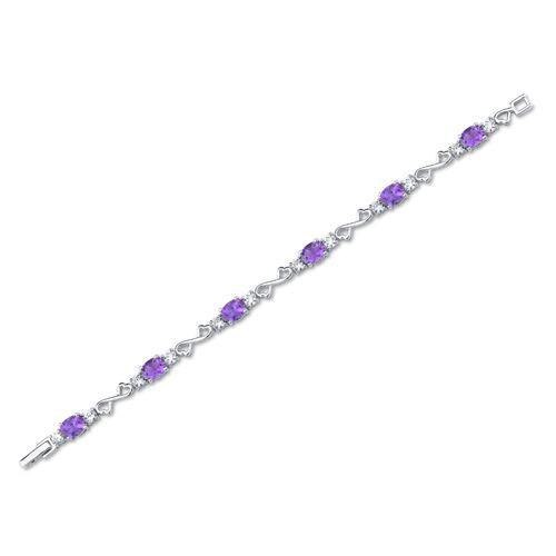 bracelet - Argent - Améthyste