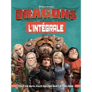 Livre 3-6 ANS Dragons 3. L'album de luxe