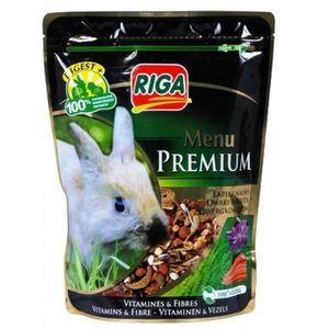 RIGA Menu Premium Lapins Nains Vitamines et Fibres - Doypack - 500 g
