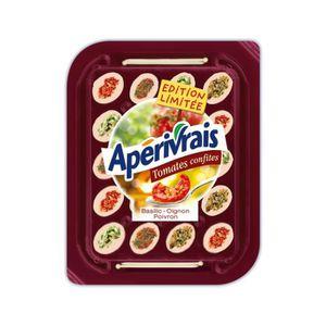 APERIVRAIS Fromages apéritifs - Tomates confites -