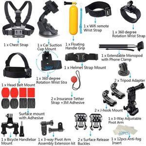 CAMÉRA SPORT Pour GoPro Accessoires Hero7 - 6-5-4-3 Bundle Camé