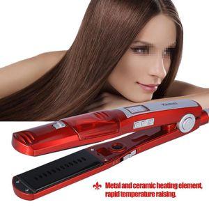 FER A LISSER Kemei KM-3011 Lisseur Cheveux Professionnel, Fer à