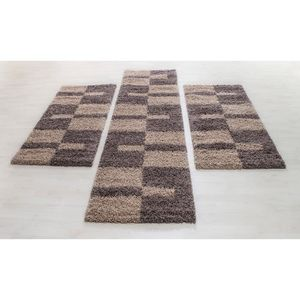 Tapis chambre taupe - Achat / Vente pas cher