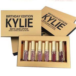 CONTOUR DES LÈVRES JJIU 6PCS Mini Kit lèvre Kylie Lip Gloss d'or ense