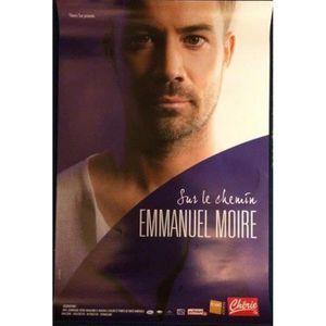 AFFICHE - POSTER Emmanuel MOIRE - Sur Le Chemin - 40x60cm - AFFICHE