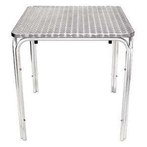 MANGE-DEBOUT Boléro place Stacking Table 700mm en acier inoxyda