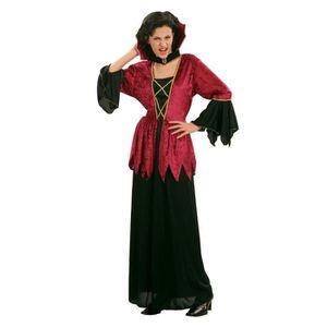 6ee87344a7b91 DÉGUISEMENT - PANOPLIE Déguisement vampire femme Halloween - Taille Uniqu