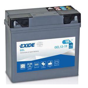 BATTERIE VÉHICULE GEL12-19 51913, EXIDE Batterie de démarrage EXIDE
