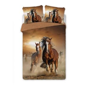 housse de couette cheval achat vente housse de couette cheval pas cher soldes d s le 10. Black Bedroom Furniture Sets. Home Design Ideas