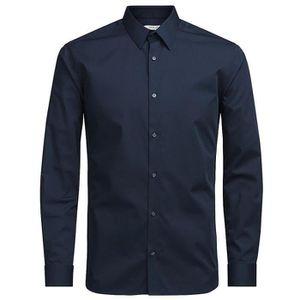 4c9fecdf71af Vêtements Homme Chemises Jack   Jones Jprnon Iron Bleu Bleu - Achat ...