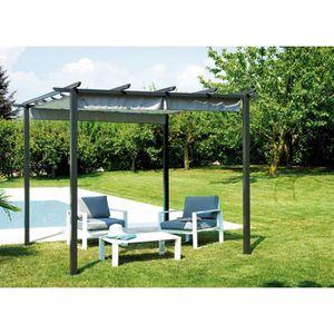 gloriette de jardin fer achat vente pas cher. Black Bedroom Furniture Sets. Home Design Ideas