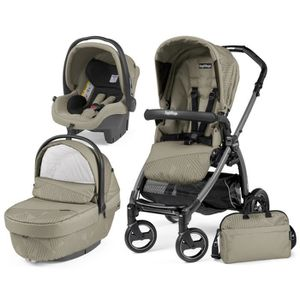 POUSSETTE   TRIO BOOK PEG PEREGO GEO BEIGE (Chassis S JET)