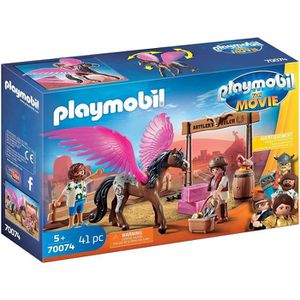 FIGURINE - PERSONNAGE PLAYMOBIL 70074 - PLAYMOBIL THE MOVIE Marla et Del