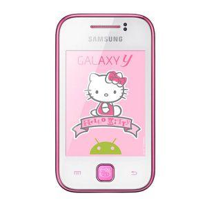 Téléphone portable SAMSUNG Galaxy Y Hello Kitty